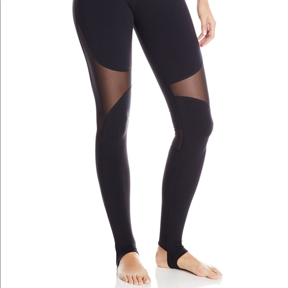 dd80a5c297 ALO Yoga Pants | Womens Mesh Yoga Pant With Foot Hook | Poshmark